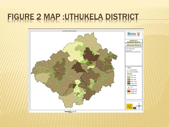 FIGURE 2 Map :uthukela district