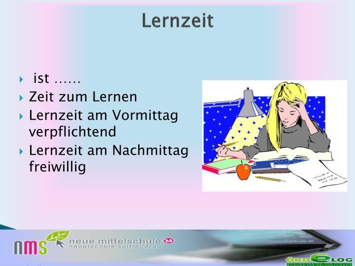 Lernzeit