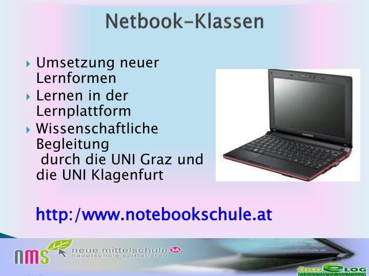 Netbook-Klassen