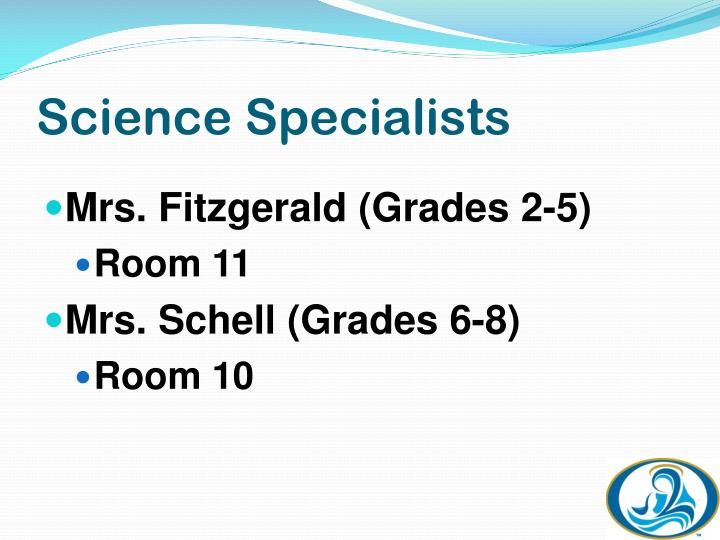 Science Specialists