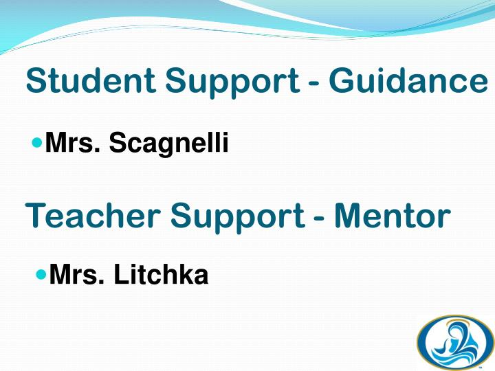 Student Support - Guidance
