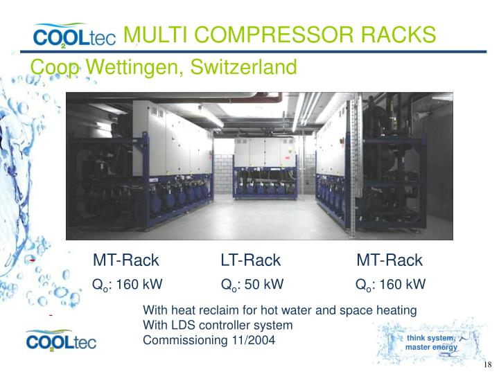 MULTI COMPRESSOR RACKS