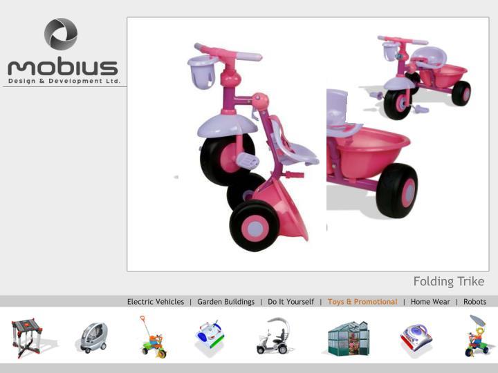 Folding Trike