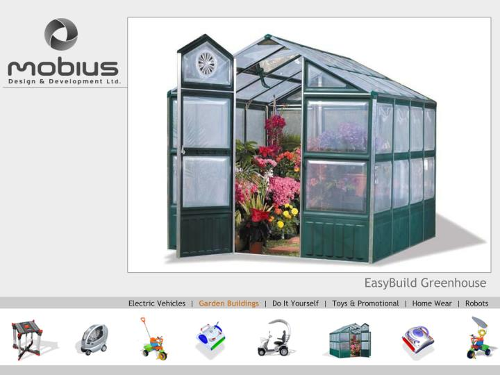 EasyBuild Greenhouse