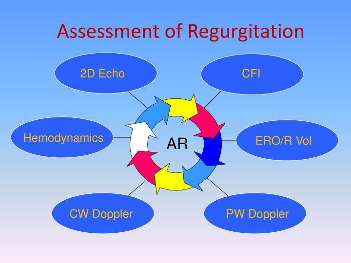 Assessment of Regurgitation