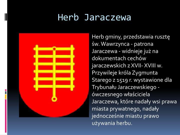 Herb Jaraczewa