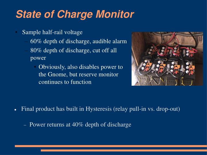 State of Charge Monitor