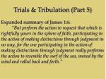 trials tribulation part 515