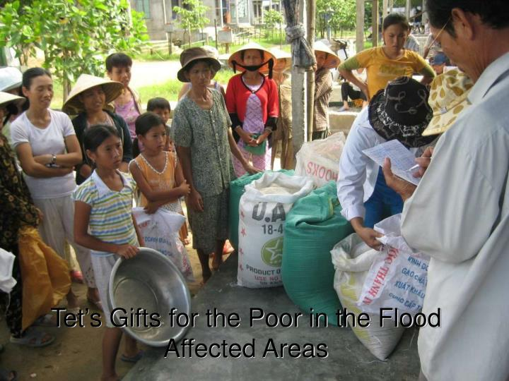 Tet's Gifts for the Poor in the Flood Affected Areas