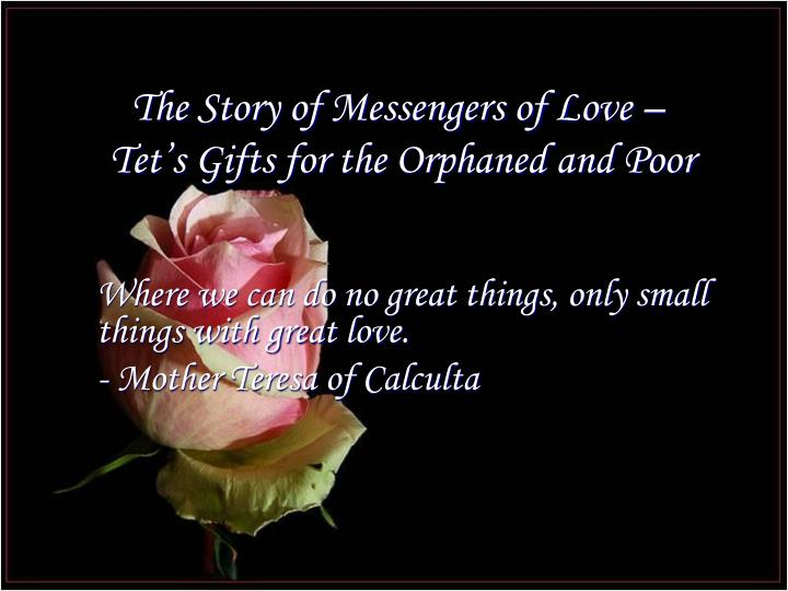 The Story of Messengers of Love –