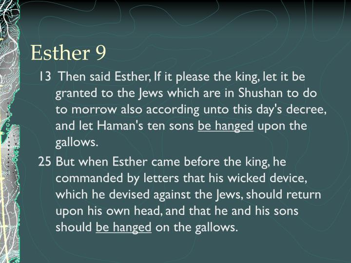 Esther 9