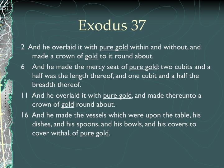 Exodus 37
