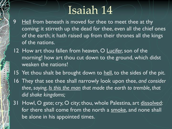Isaiah 14