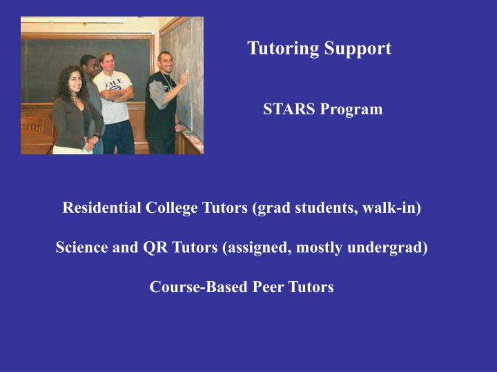 Tutoring Support