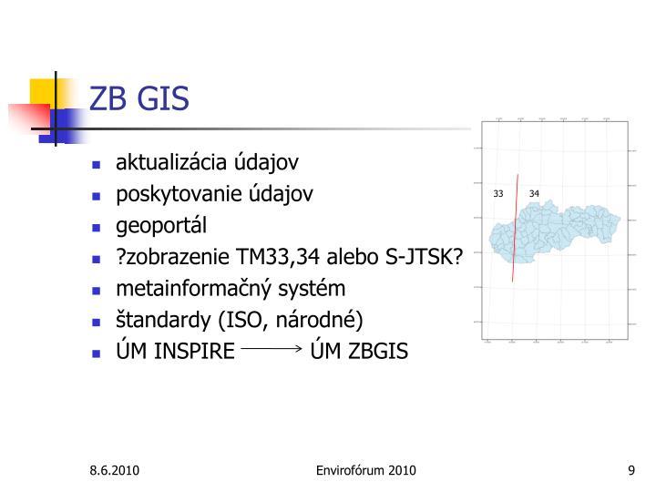 ZB GIS