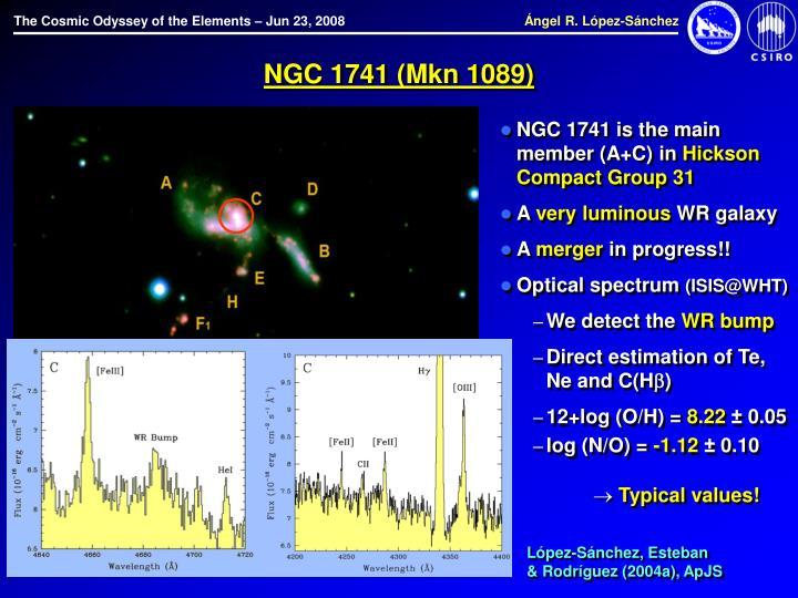 NGC 1741 (Mkn 1089)