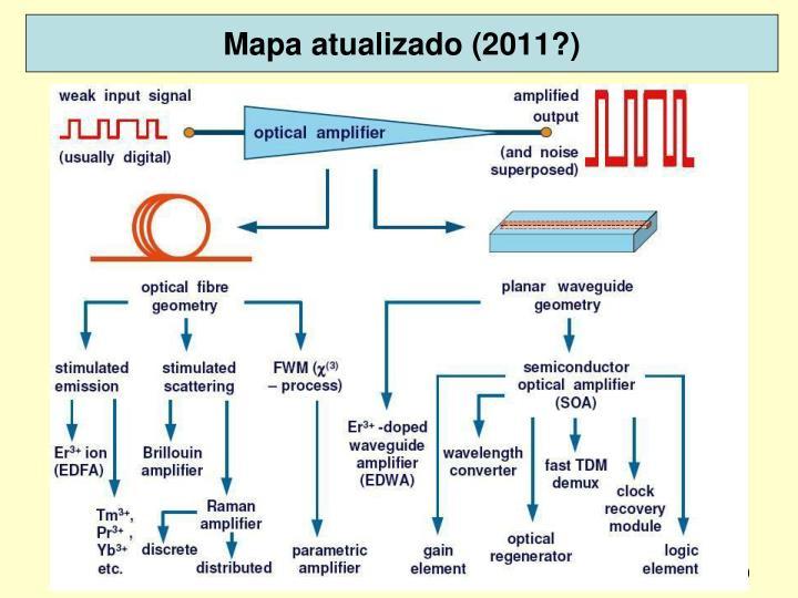 Mapa atualizado (2011?)
