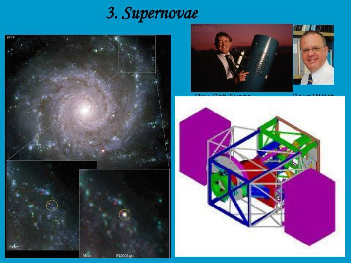 3. Supernovae