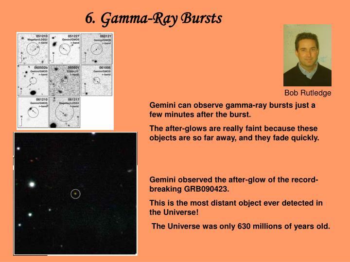 6. Gamma-Ray Bursts