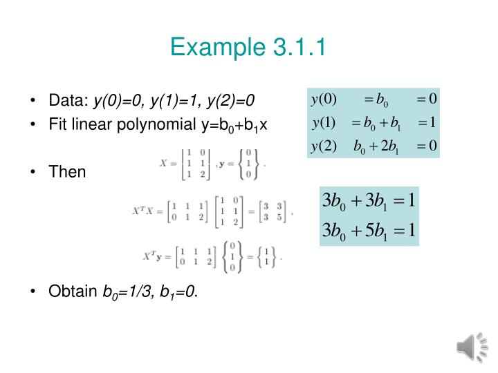 Example 3.1.1