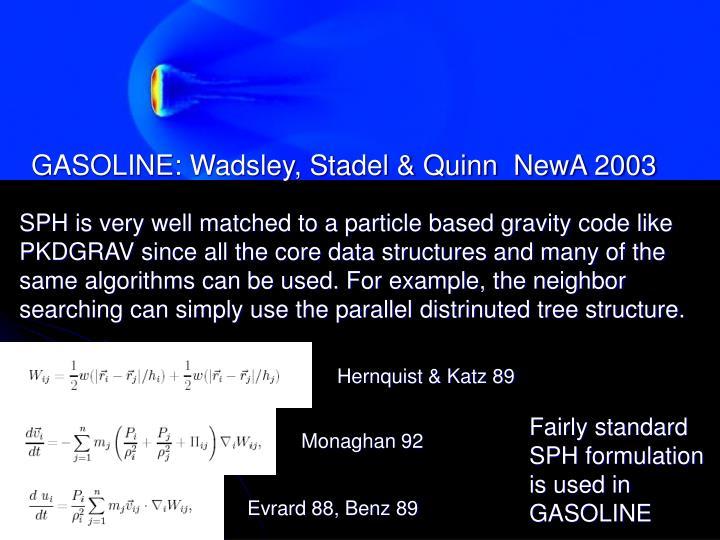 GASOLINE: Wadsley, Stadel & Quinn  NewA 2003