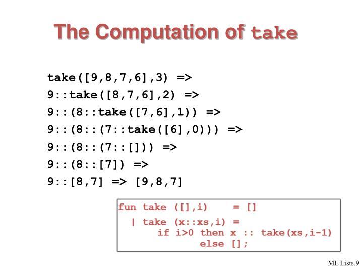 The Computation of