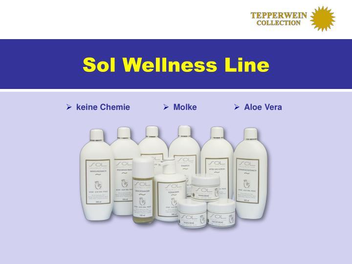 Sol Wellness Line