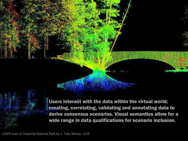 LiDAR scan at Yosemite National Park by J. Toby Minear, UCB