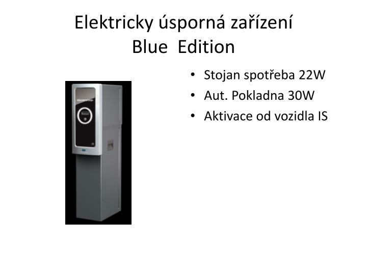 Elektricky úsporná zařízení