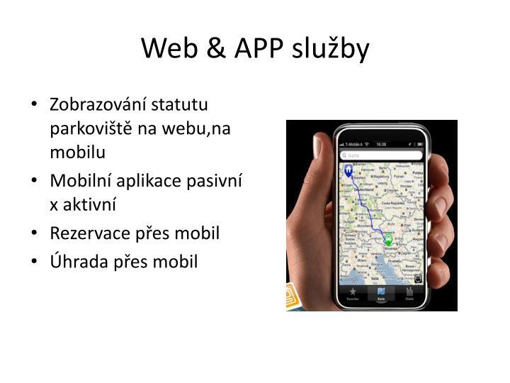 Web & APP služby
