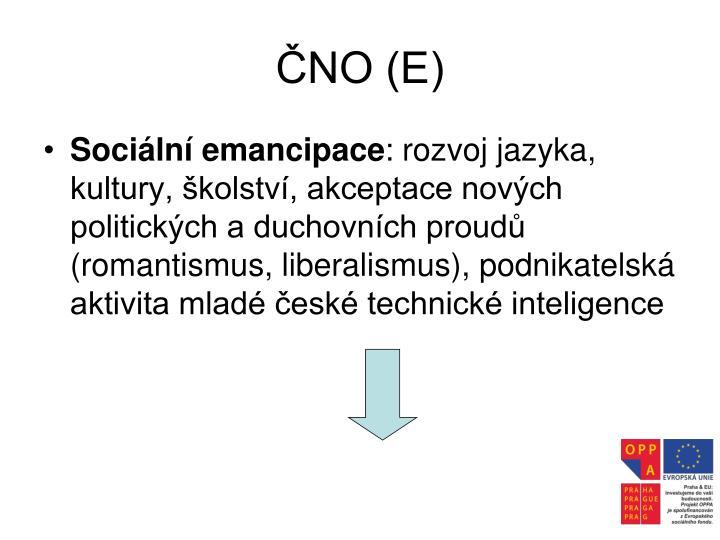 ČNO (E)