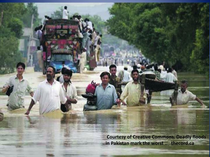 Courtesy of Creative Commons. Deadly floods in Pakistan mark the worst ..   thecord.ca