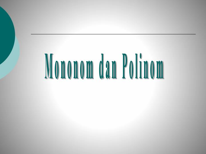 Mononom