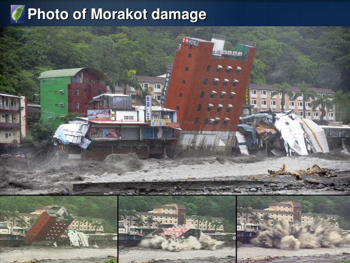 Photo of Morakot damage