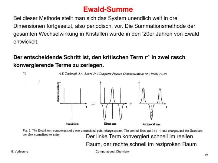 Ewald-Summe