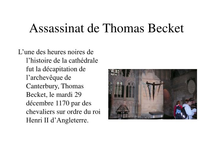 Assassinat de Thomas Becket