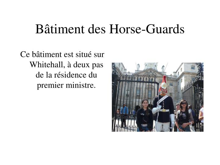 Bâtiment des Horse-Guards