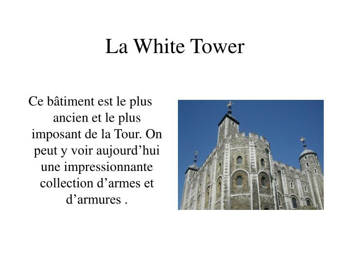 La White Tower