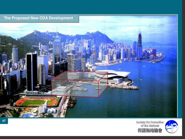 The Proposed New CDA Development
