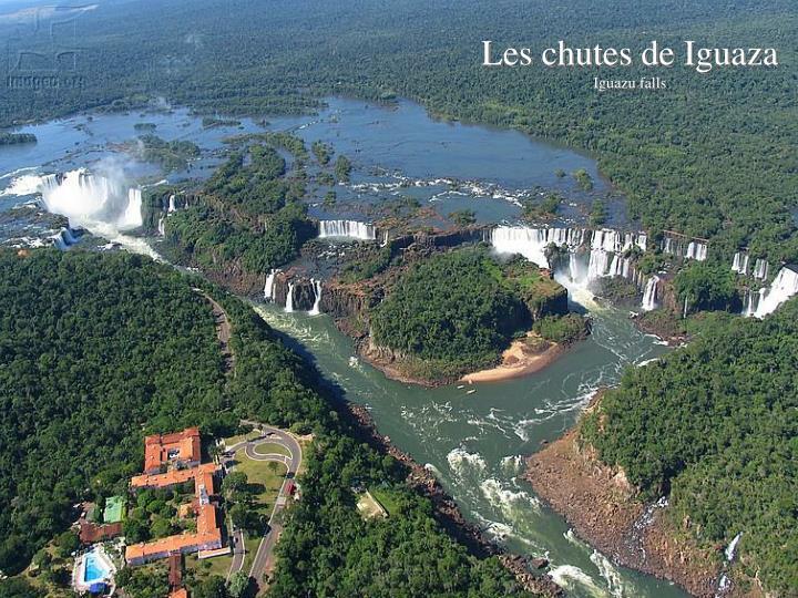 Les chutes de Iguaza