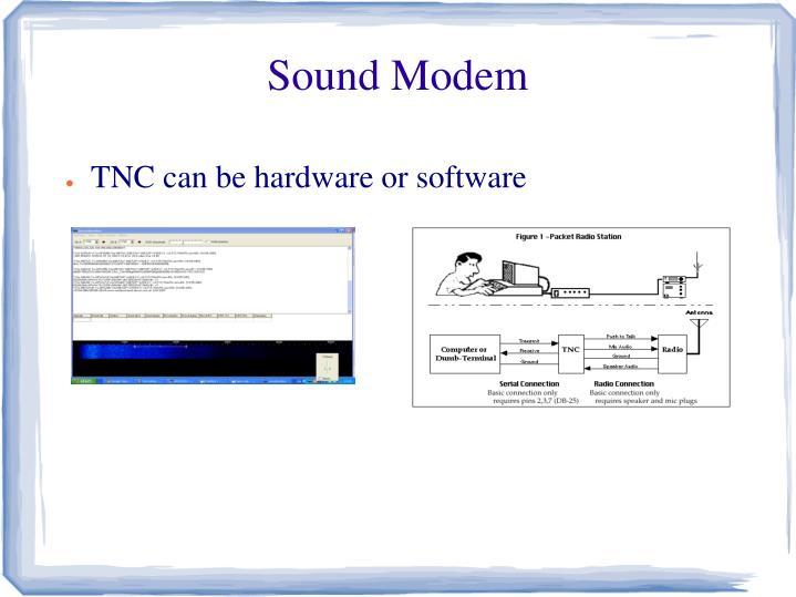 Sound Modem