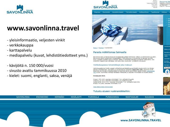 www.savonlinna.travel