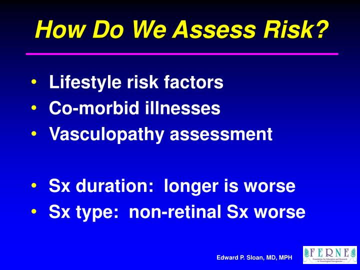 How Do We Assess Risk?