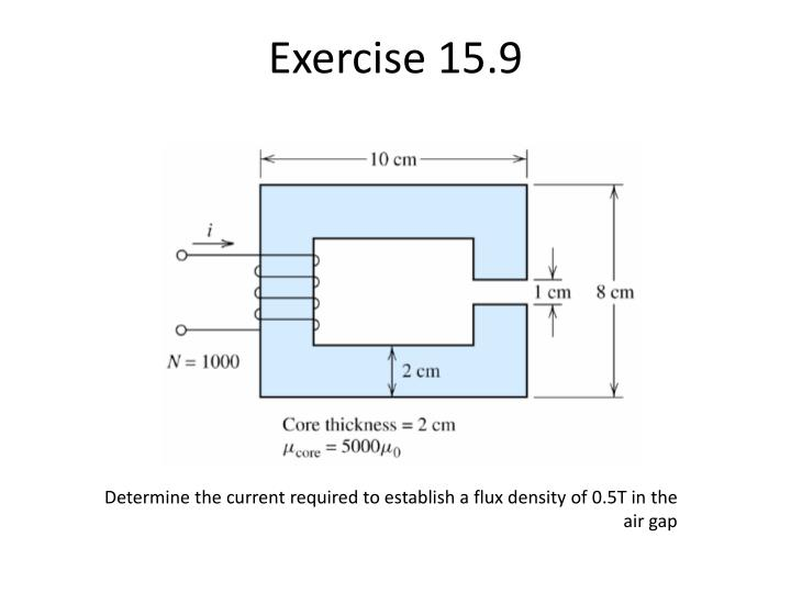 Exercise 15.9
