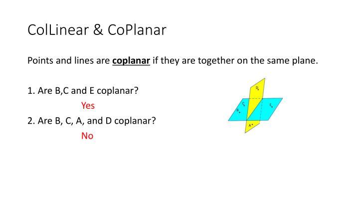 ColLinear