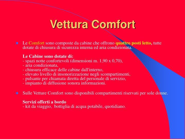 Vettura Comfort