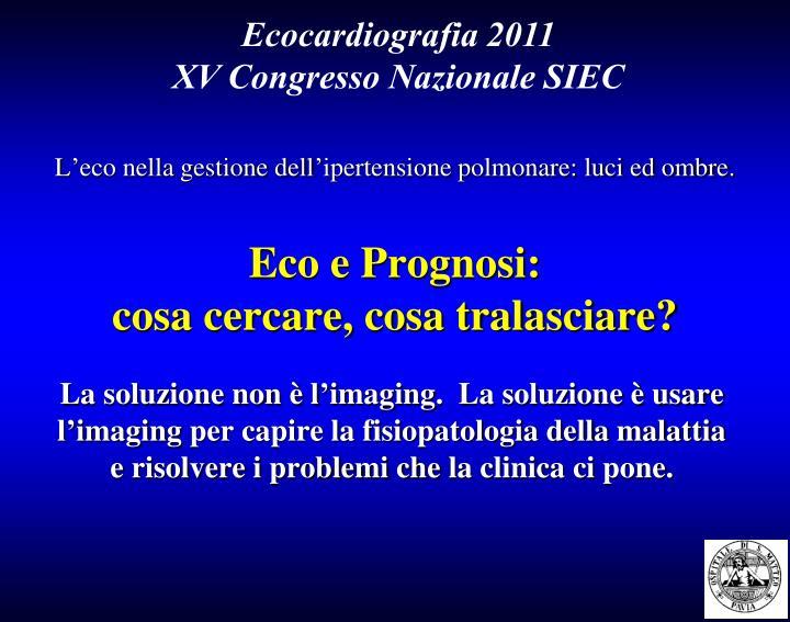 Ecocardiografia 2011