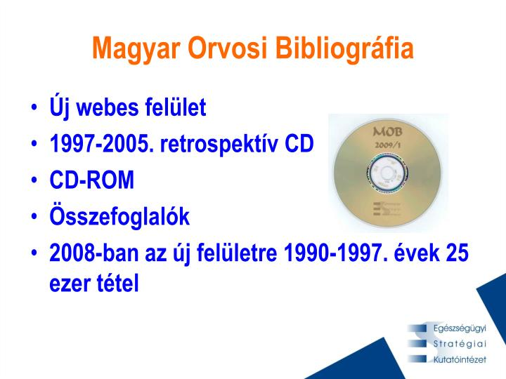 Magyar Orvosi Bibliográfia