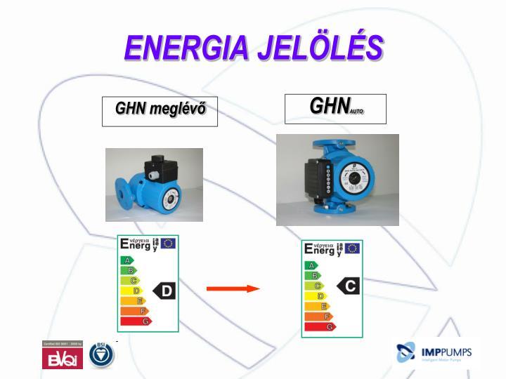 ENERGIA JELÖLÉS