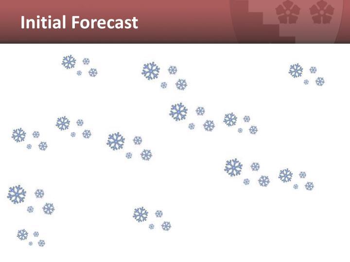 Initial Forecast